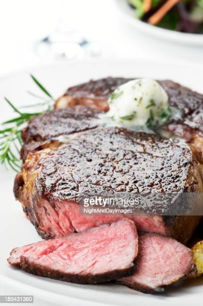 Saftiges Ribeye-Steak
