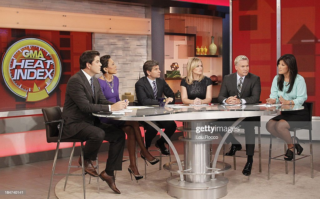 AMERICA - Juju Chang on 'Good Morning America,' 10/14/13, airing on the ABC Television Network. JOSH
