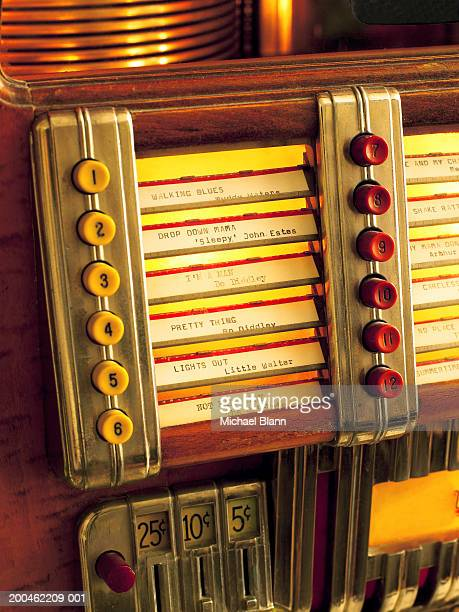 Jukebox, close-up
