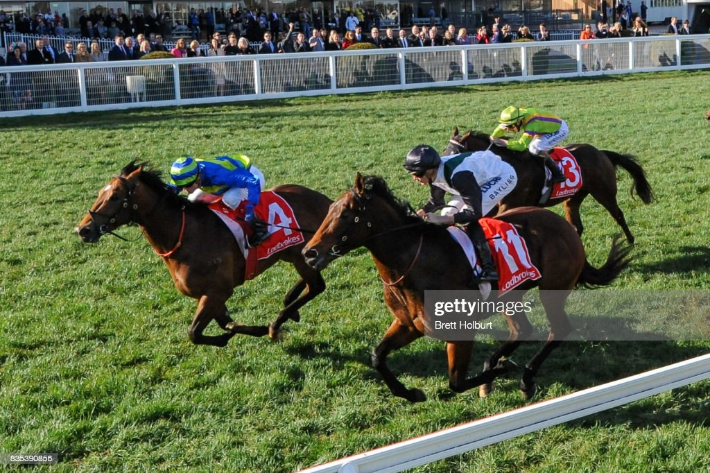 Jukebox ridden by Craig Williams wins KS Environmental Vain Stakes at Caulfield Racecourse on August 19, 2017 in Caulfield, Australia.