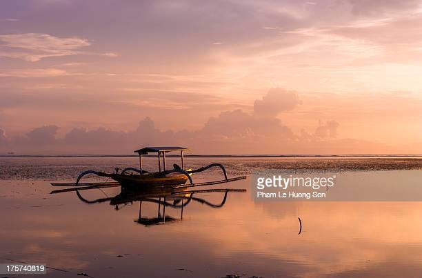 Jukung, Balinese traditional fishing boat