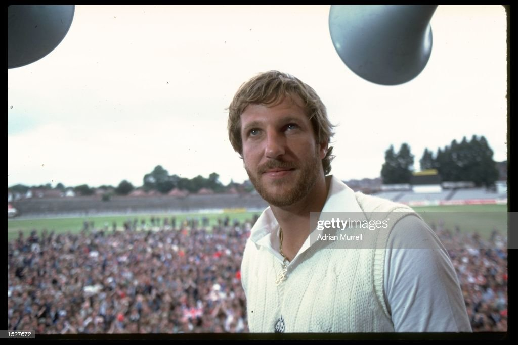 A portrait of Ian Botham of England after his historic performance in the third test match against Australia at Headingley Botham hit an innings of...