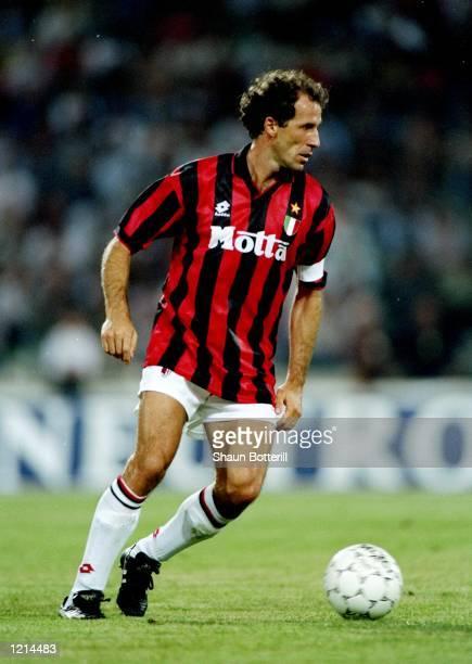 Franco Baresi of AC Milan Mandatory Credit Shaun Botterill /Allsport