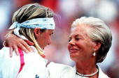 Jul 1993 jana novotna is consoled by the duchess of kent after her picture id2019898?s=170x170