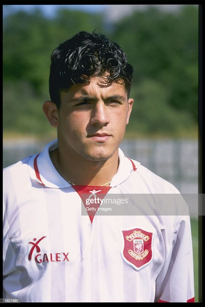 A portrait of Ivan Gattuso of Perugia football club. Mandatory Credit: Allsport UK
