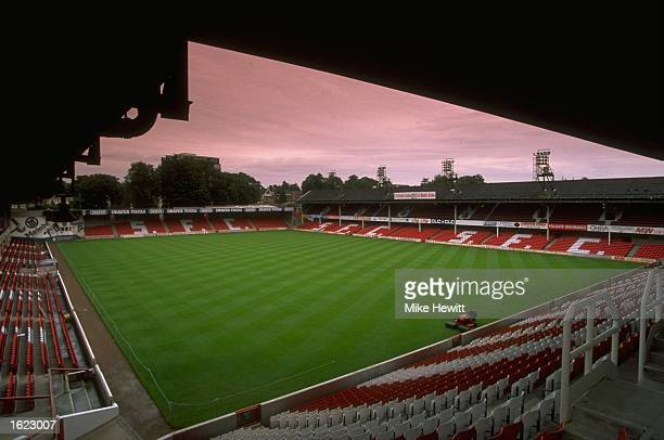A general view of The Dell home to Southampton Football Club Mandatory Credit Mike Hewitt /Allsport