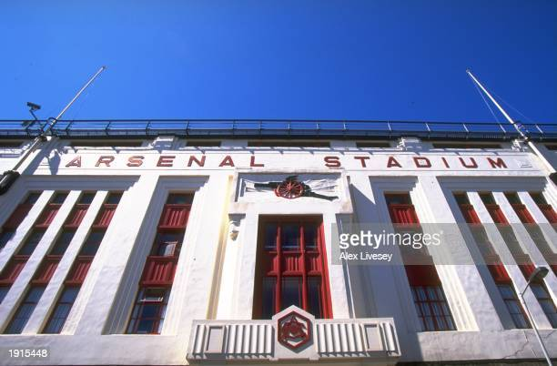 General view of Highbury stadium home of Arsenal FC in London England Mandatory Credit Alex Livesey /Allsport