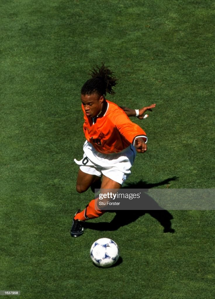 <a gi-track='captionPersonalityLinkClicked' href=/galleries/search?phrase=Edgar+Davids&family=editorial&specificpeople=213130 ng-click='$event.stopPropagation()'>Edgar Davids</a> of Holland on the ball during the World Cup quarter-final against Argentina at the Stade Velodrome in Marseilles. Holland won the match 2-1. \ Mandatory Credit: Stu Forster/Allsport