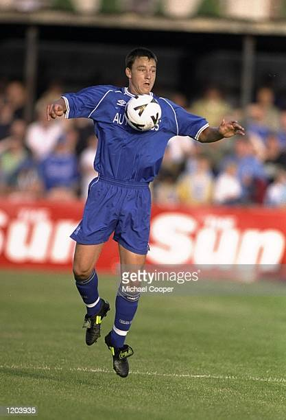 John Terry of Chelsea in action during a PreSeason Friendly against Omagh played in Omagh Northern Ireland Mandatory Credit Michael Cooper /Allsport