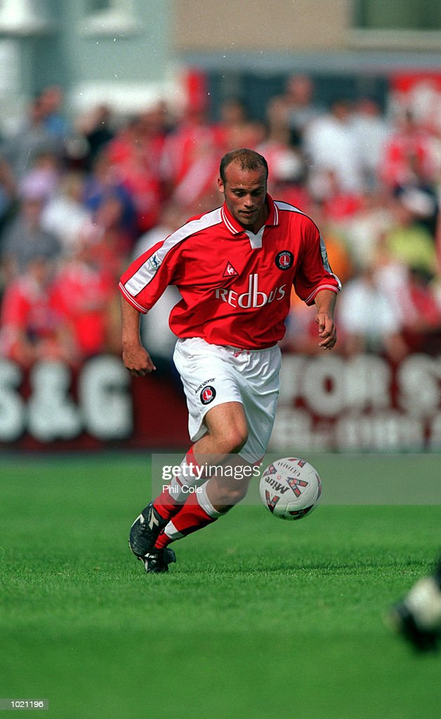 Claus Jenson of Charlton in action during the pre-season friendly match between Welling United and Charlton Athletic played in Welling. Mandatory Credit: Phil Cole/ALLSPORT