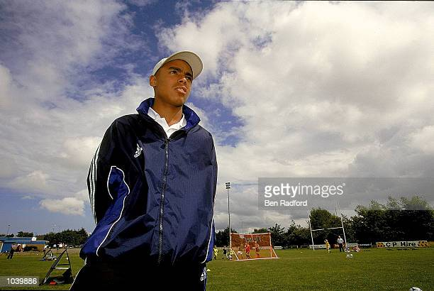 Portrait of Owen Price of Tottenham during the Adidas / Milk Cup Commision held in London Mandatory Credit Ben Radford /Allsport