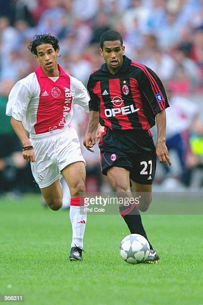 Serginho of AC Milan runs with the ball during the preseason friendly tournament match against Ajax played at the Amsterdam ArenA in Amsterdam...
