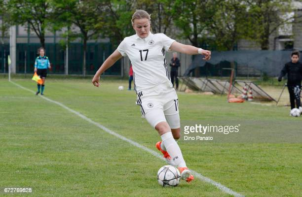 Jule Gloy of Germany women's U16 competes during the 2nd Female Tournament 'Delle Nazioni' match between Germany U16 and Belgium at Stadio Comunale...