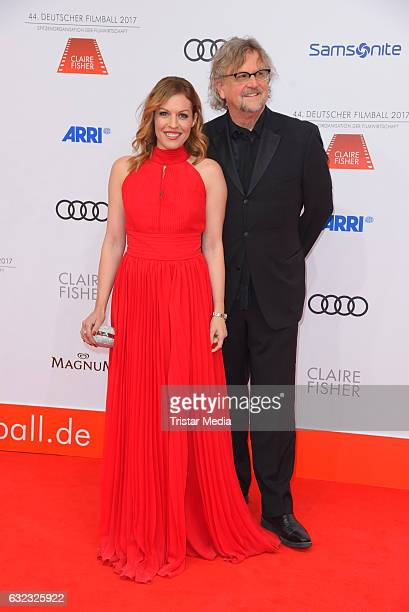 Jule Goelsdorf and Martin Krug attend the German Film Ball 2017 at Hotel Bayerischer Hof on January 21 2017 in Munich Germany