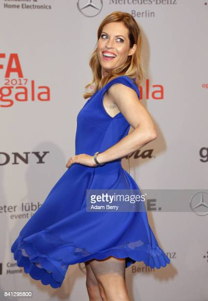 Jule Goelsdorf arrives for the IFA 2017 opening gala on August 31 2017 in Berlin Germany