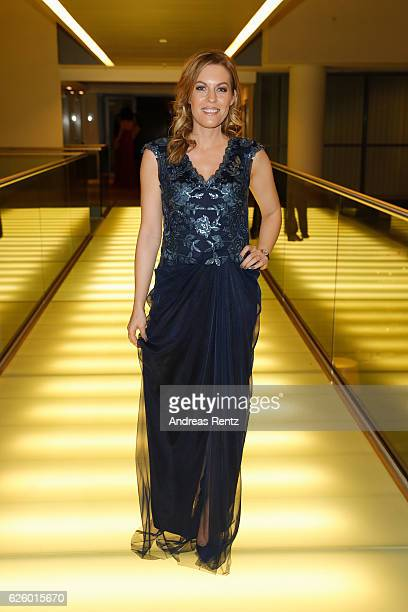Jule Goelsdorf attends the charity event dolphin aid gala 'Dolphin's Night' at InterContinental Hotel on November 26 2016 in Duesseldorf Germany