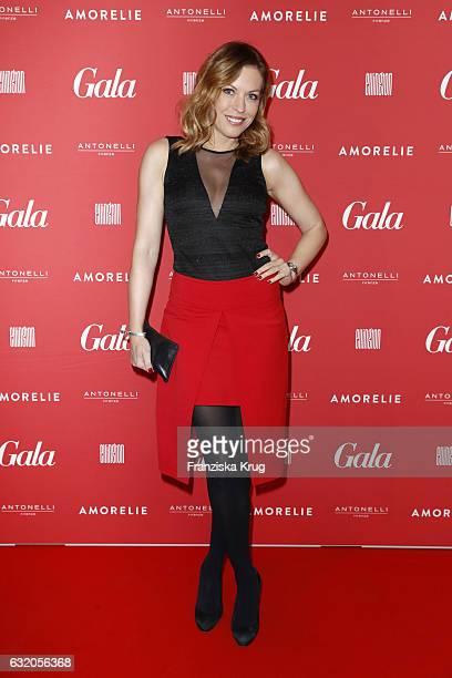 Jule Goelsdorf attends the 'Gala' fashion brunch during the MercedesBenz Fashion Week Berlin A/W 2017 at Ellington Hotel on January 19 2017 in Berlin...