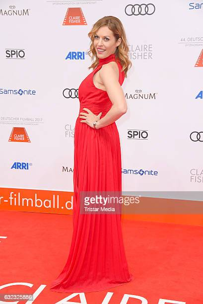 Jule Goelsdorf attends the German Film Ball 2017 at Hotel Bayerischer Hof on January 21 2017 in Munich Germany