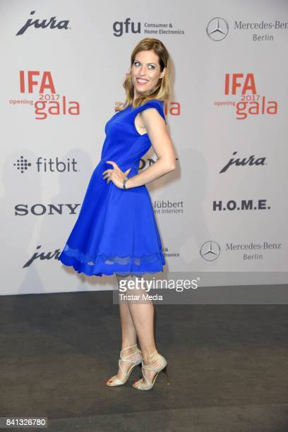Jule Goelsdorf attends the IFA 2017 opening gala on August 31 2017 in Berlin Germany