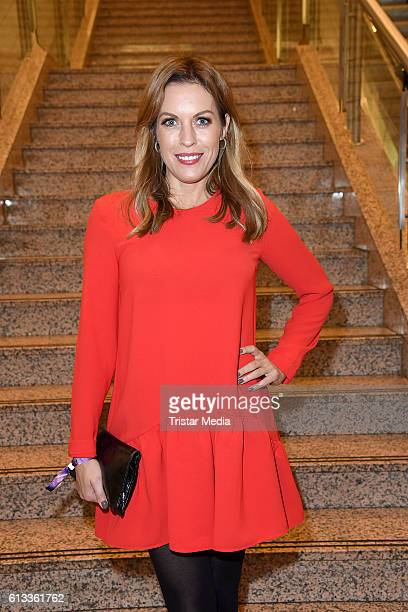 Jule Goelsdorf attends the Late Night Shopping Party on October 7 2016 in Hamburg Germany