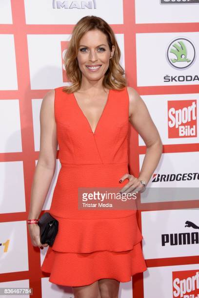 Jule Goelsdorf attends the Sport Bild Award on August 21 2017 in Hamburg Germany