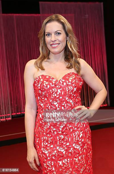 Jule Goelsdorf during the Hessian Film and Cinema Award at Alte Oper on October 21 2016 in Frankfurt am Main Germany