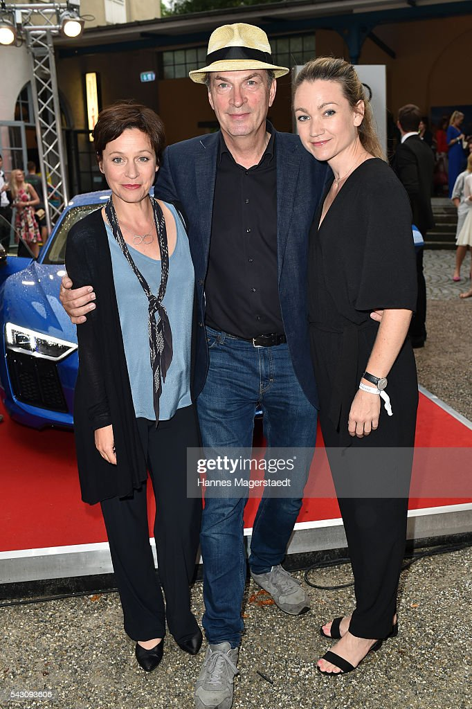 Jule Ronstedt, Lisa Maria Potthoff and <a gi-track='captionPersonalityLinkClicked' href=/galleries/search?phrase=Herbert+Knaup&family=editorial&specificpeople=243176 ng-click='$event.stopPropagation()'>Herbert Knaup</a> during the Audi Director's Cut during the Munich Film Festival 2016 at Praterinsel on June 25, 2016 in Munich, Germany.