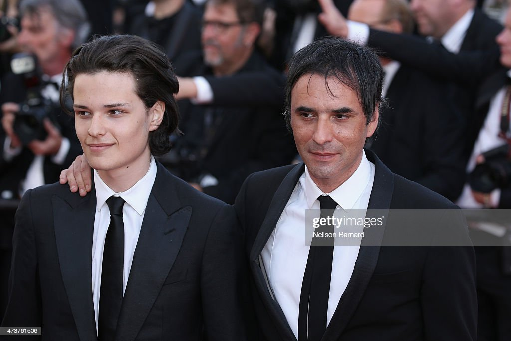 Jules Benchetrit and Samuel Benchetrit attend the Premiere of 'Carol' during the 68th annual Cannes Film Festival on May 17 2015 in Cannes France