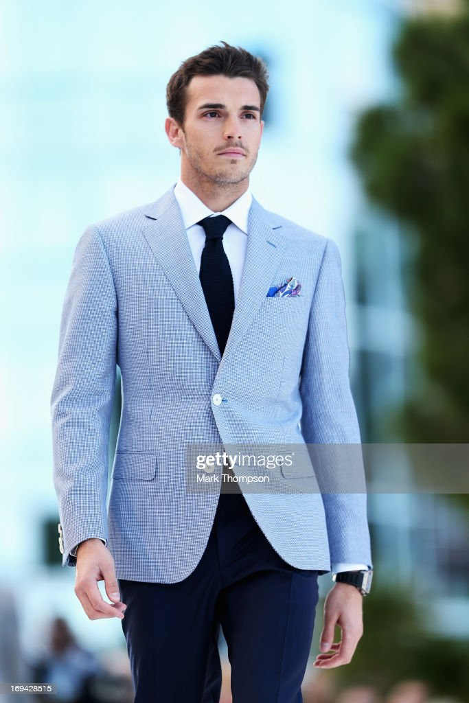 <a gi-track='captionPersonalityLinkClicked' href=/galleries/search?phrase=Jules+Bianchi&family=editorial&specificpeople=3942007 ng-click='$event.stopPropagation()'>Jules Bianchi</a> of France and Marussia attends the Amber Lounge Charity Fashion event at Le Meridien Beach Plaza Hotel on May 24, 2013 in Monaco, Monaco.