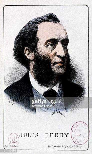 Jules Ferry Circa 1880 French Public Instruction Minister