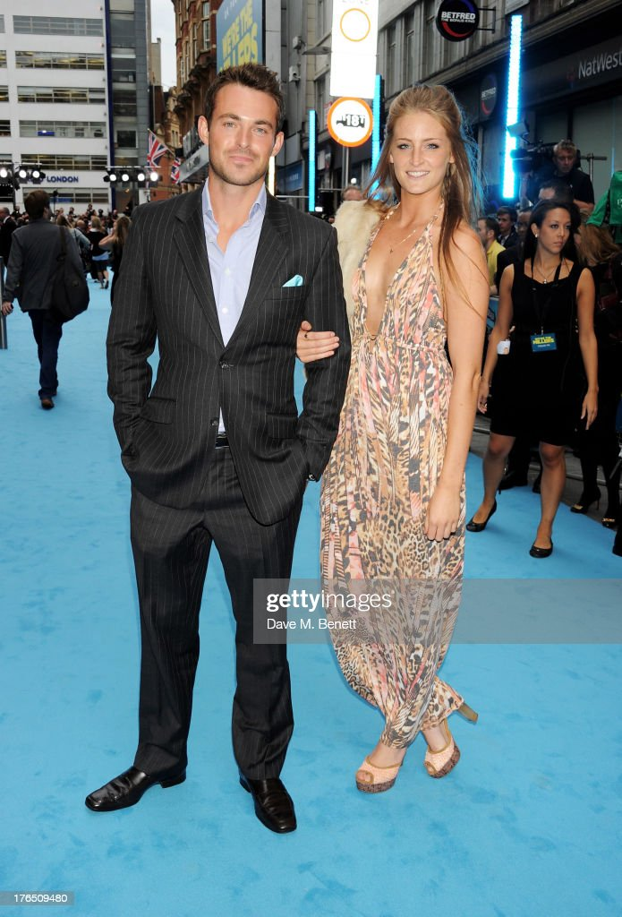 <a gi-track='captionPersonalityLinkClicked' href=/galleries/search?phrase=Jules+Knight&family=editorial&specificpeople=4668944 ng-click='$event.stopPropagation()'>Jules Knight</a> (L) attends the European Premiere of 'We're The Millers' at Odeon West End on August 14, 2013 in London, England.