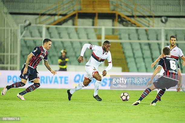 Jules Olivier Ntcham during serie A tim between Crotone v Genoa in Pescara on August 28 2016