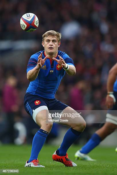 Jules Plisson of France during the RBS Six Nations match between England and France at Twickenham Stadium on March 21 2015 in London England