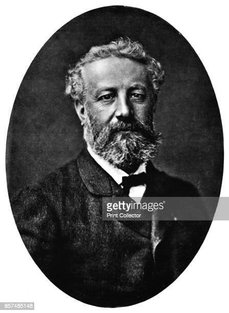 Jules Verne' circa 1878 Jules Gabriel Verne a French novelist poet and playwright known for adventure novels Verne has a profound influence on the...