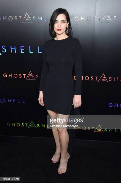 Jules Willcox attends the 'Ghost In The Shell' premiere hosted by Paramount Pictures DreamWorks Pictures at AMC Lincoln Square Theater on March 29...