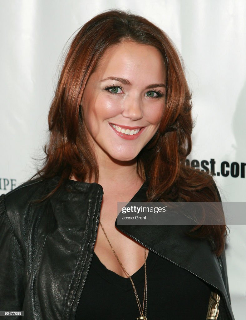 Julia Anderson attends the First Annual Super Bowl Pre-Party Hosted by Willie McGinest at Capitol City on February 6, 2010 in Los Angeles, California.