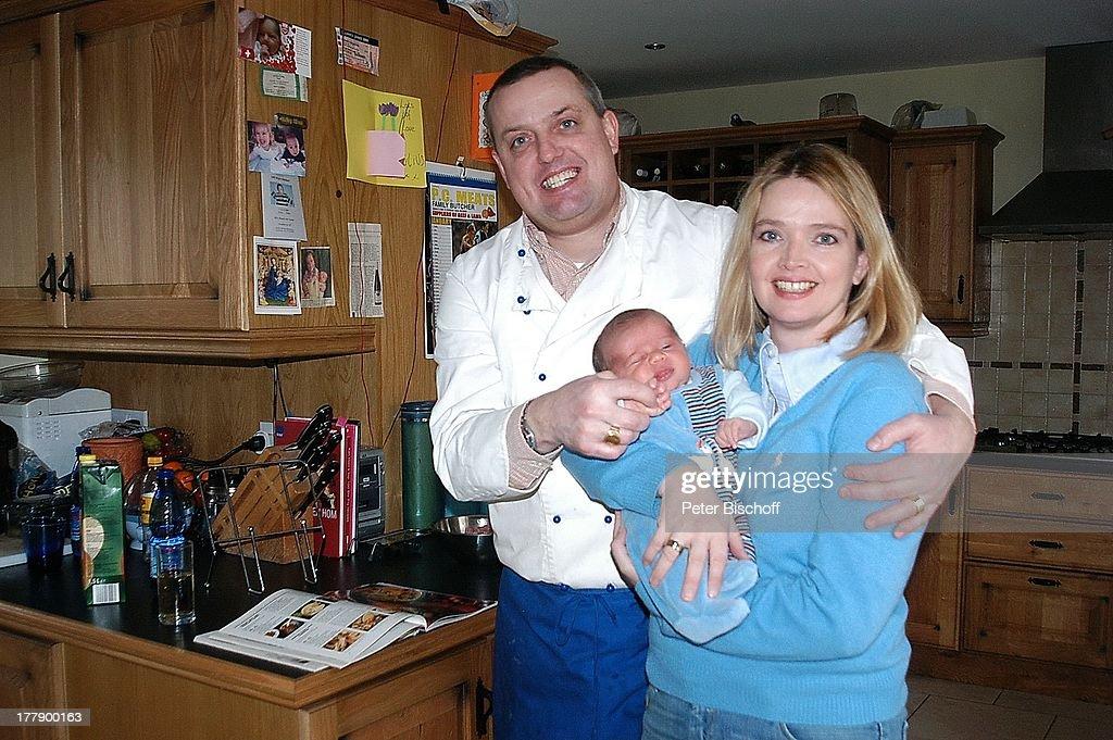 julia biedermann mit 2. sohn säugling matthias arnold nicolaus ... - Kleinkind Küche