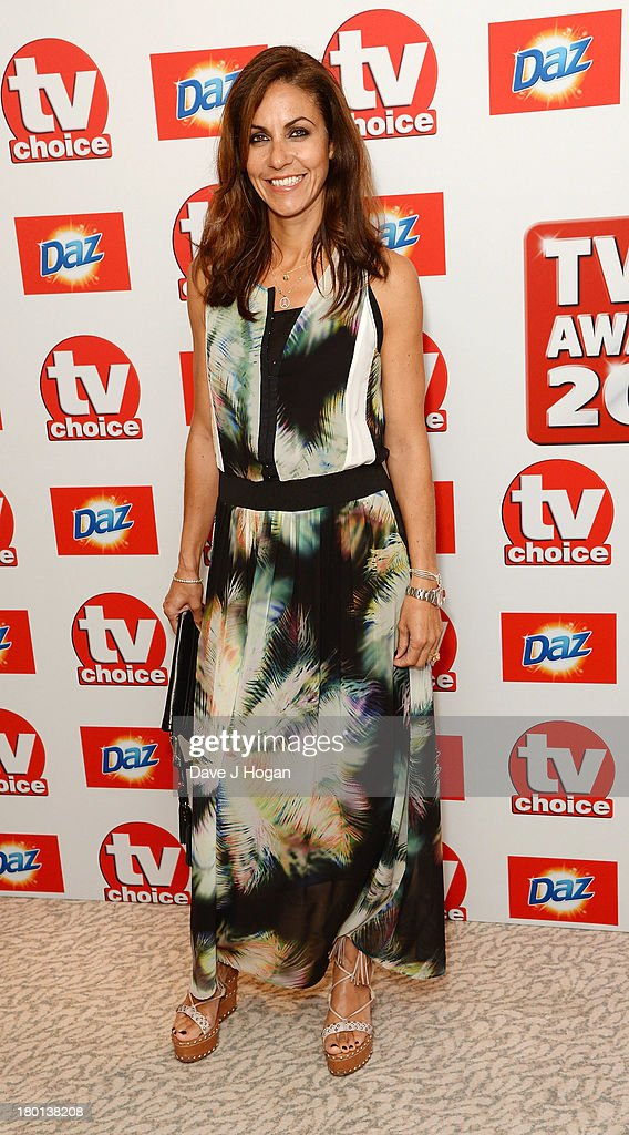 Julia Bradbury attends the TV Choice Awards 2013 at The Dorchester on September 9, 2013 in London, England.