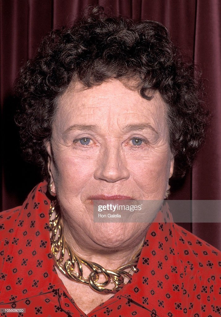 Julia Child during James Beard Foundation Dinner Honoring Julia Child at Jane's Bar And Grill in New York City, New York, United States.