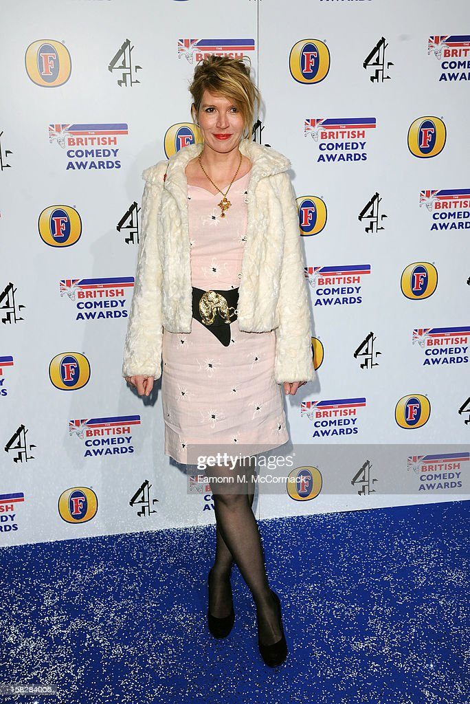 Julia Davies attends the British Comedy Awards at Fountain Studios on December 12, 2012 in London, England.