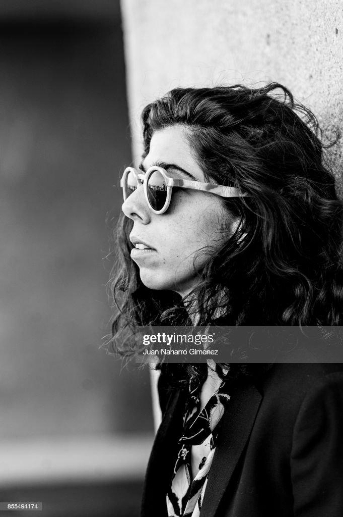 Julia de Castro, actress and singer of the music band 'La Purisima', poses for a portrait session during 65th San Sebastian Film Festival on September 25, 2017 in San Sebastian, Spain
