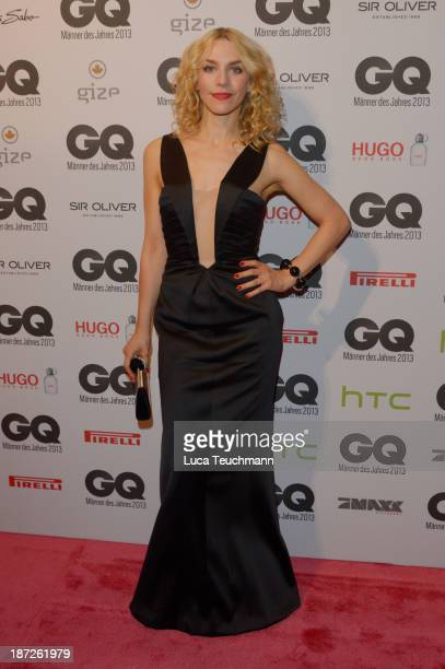 Julia Dietze arrives at the GQ Men of the Year Award at Komische Oper on November 7 2013 in Berlin Germany