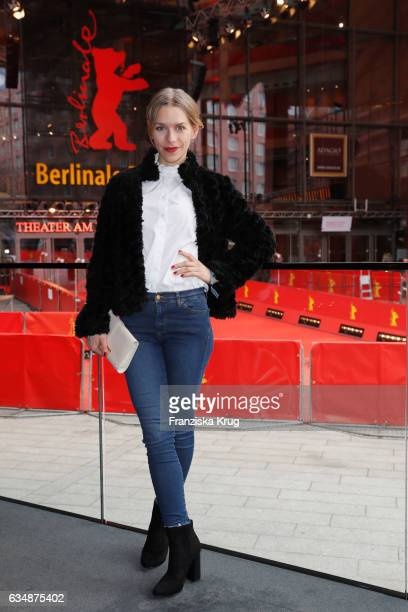 Julia Dietze attends the Audi Berlinale Brunch during the 67th Berlinale International Film Festival on February 12 2017 in Berlin Germany