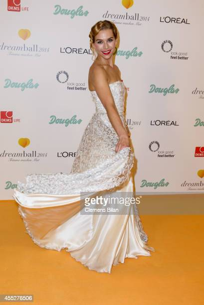 Julia Dietze attends the Dreamball 2014 at Ritz Carlton on September 11 2014 in Berlin Germany