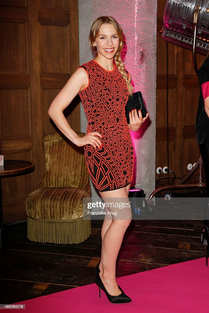 Julia Dietze attends the JT Touristik Celebrates ITB Party on March 05 2015 in Berlin Germany