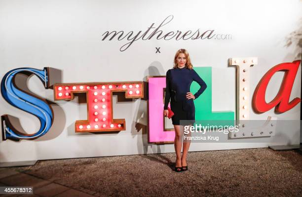 Julia Dietze attends the mytheresacom x Stella Mc Cartney pre Oktoberfest on September 18 2014 in Munich Germany