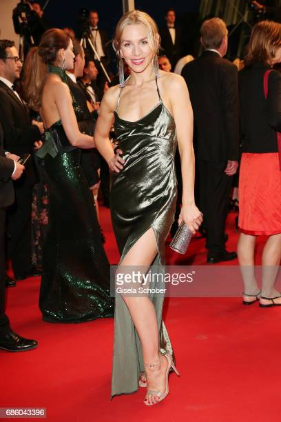 Julia Dietze attends the 'The Square' screening during the 70th annual Cannes Film Festival at Palais des Festivals on May 20 2017 in Cannes France
