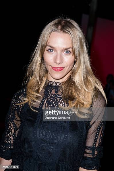 Julia Dietze attends the Zalando fashion show during the Bread Butter by Zalando at arena Berlin on September 4 2016 in Berlin Germany