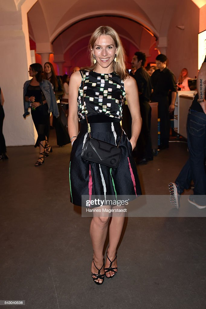 Julia Dietze during the Audi Director's Cut during the Munich Film Festival 2016 at Praterinsel on June 25, 2016 in Munich, Germany.