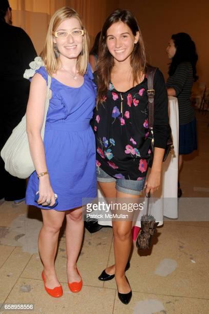 Julia DiNardo and Katie Suarez attend LIZ CLAIBORNE NEW YORK Screening of RED BUCKET BUTTON FILMS at Liz Claiborne New York Showroom on August 12...